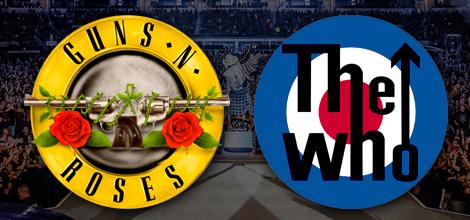 Guns N Roses The Who