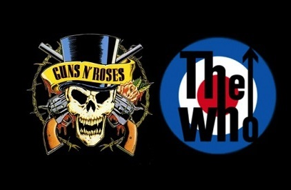 Entradas Guns N' Roses + The Who